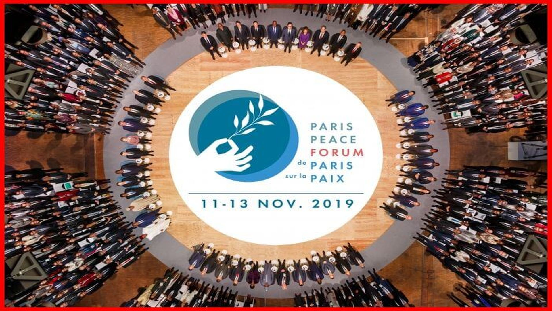 His Highness, the Aga Khan, met today with more than 30 world leaders for the opening session of the Second Peace Forum in Paris. Stéphane Sby Balmy Auditoire