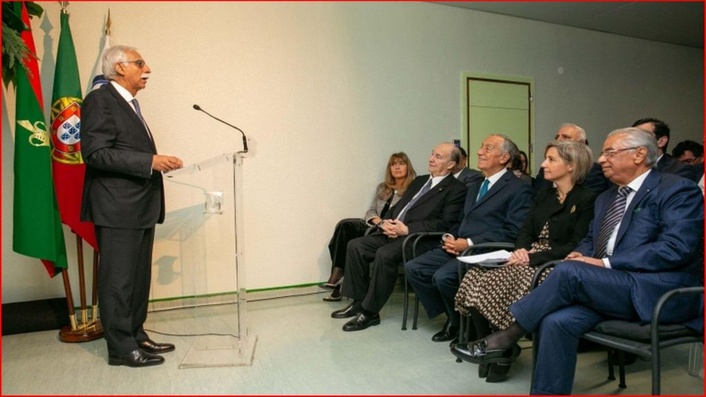 University Hospital Center of Central Lisbon Speech Delivered By Mr Firoz Rasul On The Donation Ceremony Of The Da Vinci Surgical System